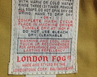 Vintage London Fog Jacket