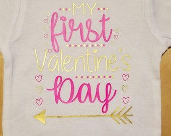 My first Valentine's Day bodysuit/onesie