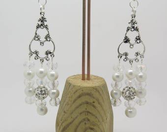 EARRINGS clip or pierced ear idea wedding Stud Earrings