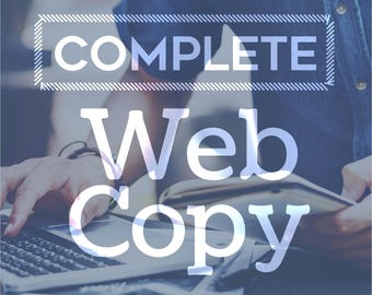 complete web copy website copy copywriting copywriter web content writing services professional writer business writer seo writing seo copy