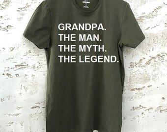 Grandpa T-Shirt, Gift for Grandpa, Grandpa Shirt, Grandpa Gift, Gift T-Shirt, Mens T-Shirt