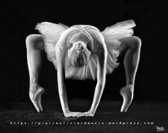 modern dancer table 6 pastel