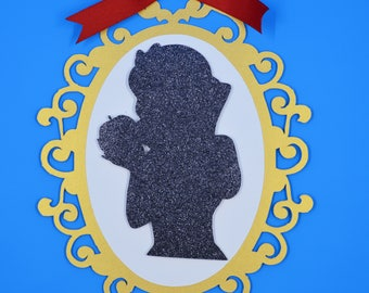 Snow White Silhouette Mirror!