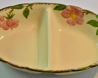 Franciscan Desert Rose Divided Serving Dish