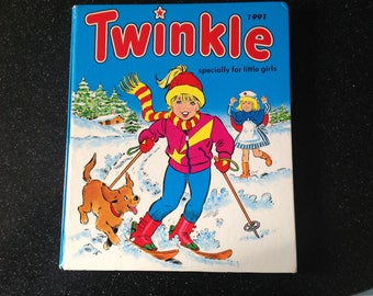 Vintage Twinkle annual book 1991