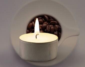 Espresso Scented Vegan Soy Handmade Scented Tealights