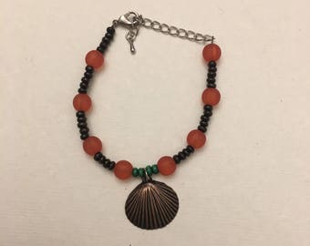 Sea Shell Beaded Bracelet