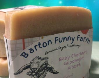 Baby Bath Soap, Handmade Goat Milk Soap, Handcrafted Soap