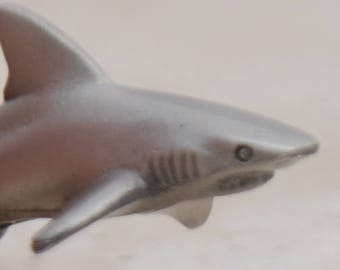 Pewter Shark Necklace