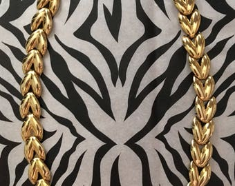 80's/90's Vintage Gold coloured chain