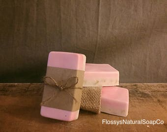 Rose Patchouli with Oatmeal Goats Milk Soap
