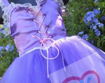Rapunzel inspired dress