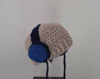 Crochet Headphone Earphone Cap