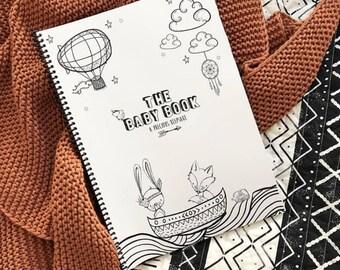 Boho Baby Book record milestone Keepsake Journal dreamer