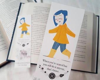 Coraline | Neil Gaiman bookmark