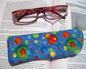 Primary Colored Planetary Eyeglasses Case