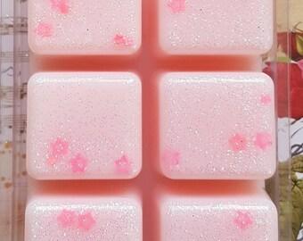 Pink Sugar Wax Melt Clamshell