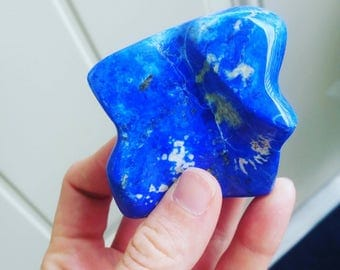 """Lapis Lazuli Polished Piece 135g 2.3"""" x 2.3"""" Beautiful and Powerful"""