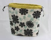 Knitting project bag - small