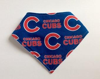Cubs Bib, Chicago Cubs Bandana Bib, Cubs Bibdana, Cubs Drool Bib, Baby Bandana Bib, Chicago Cubs Baby, Cubs Baby  Gift