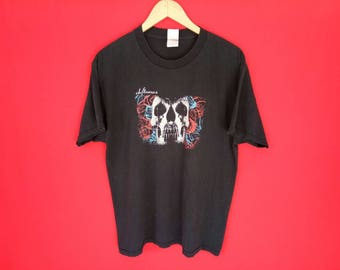vintage deftones band music concert t shirt