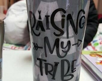 Raising My Tribe Cup