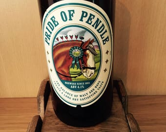 Pride of Pendle Beer Bottle Soy Wax Candle Filled to Order