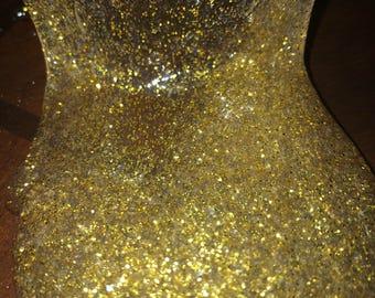 Clear golden shimmer | 1 ounce