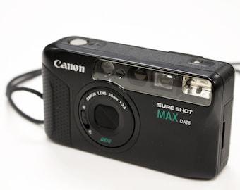 Vintage Canon Sure Shot/Autoboy Mini Max Date 35mm Camera