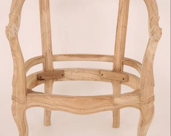 Custom Upholstered Chairs, Chair Frames, Dining Room Chairs, Accent Chairs, Custom French Barrel Chairs