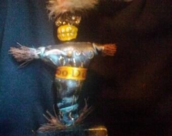 Mardi Gras Rare Authentic Voodoo Doll Mardi Gras