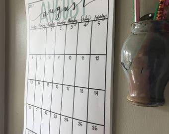 School Year Calendar (2017-2018) *digital download*