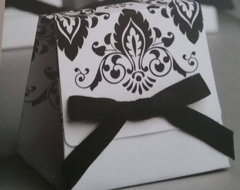 50 Wedding Favor Boxes, Favor Boxes, Gift Boxes, Candy Boxes, Damask Gift Boxes, Party Favor Boxes, Holiday Boxes, Gift Packaging, Gift Box