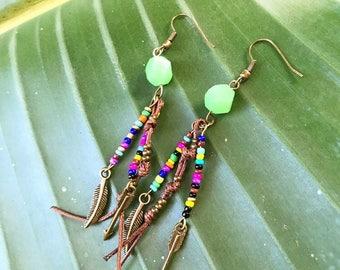 Colorful Boho Earrings