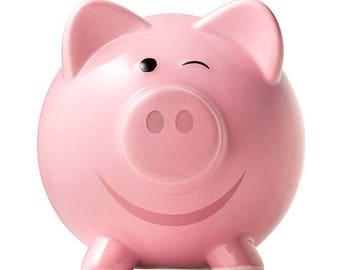 Copper piggy bank  Etsy