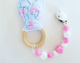 Teether with Clip