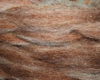 Tweed exotic mohair / alpaca / wool blended roving, 3oz skeins