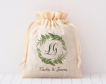 rustic wedding favor bags custom drawstring pouch wedding candy bags,Wedding Seed Packet wedding welcome bags Wedding favors gift bags