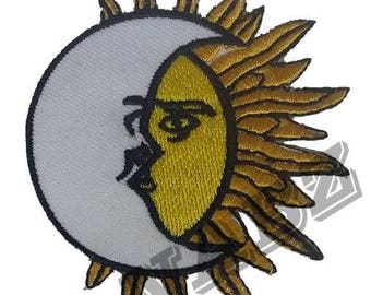 Embroidery iron Sew on Patch Badge