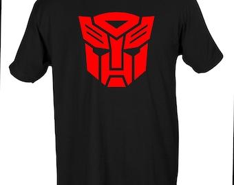 Transformers Autobots Logo Mens Shirt Sizes S-5X
