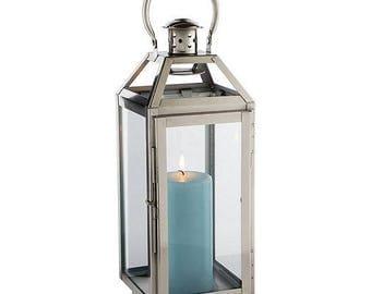 Large Block Candle Lantern