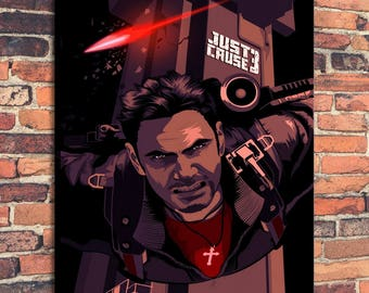 Movie Posters for Just Cause Art Print on Canvas Home Wall Decor