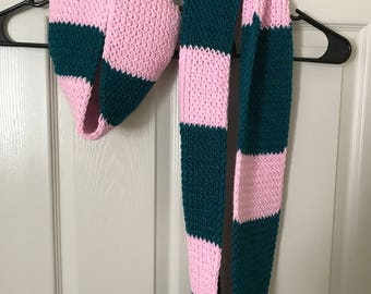 "Mommy & Me ""Cotton Candy"" Infinity Scarf Set"