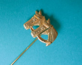 Two Horses Stick Pin