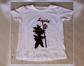 "T-shirt ""Dragon Ball"" + name choice"