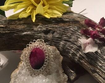 Oval Agate Crystal