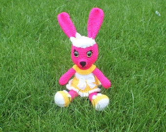 Hand Crochet/ handmade bunny rabbit