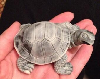 Marble. Tortoise. Figurine. Cast marble. Russia. Home Decor. Art.