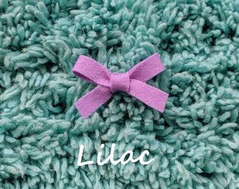 Lilac Dainty Bow