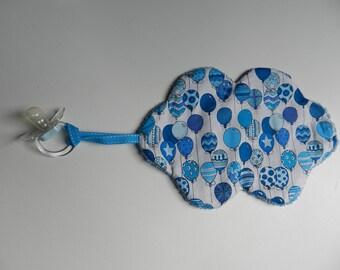 Cuddly cloud flat pacifier balloon patterns
